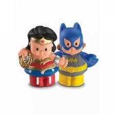 Little People DC Super Friends~Wonder Woman & Batgirl Figure Pack - intl