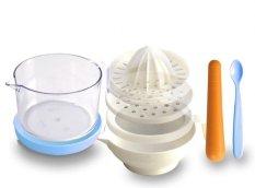 Lusty Bunny Baby Food Processor Biru - Alat Penghalus Makanan Bayi