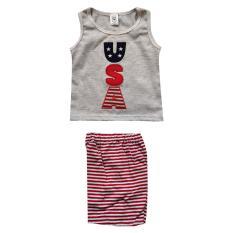 MacBear Jaket anak Baseball Authentic Stripes Blue Size 3. Macbear Baju Kaos Anak California All