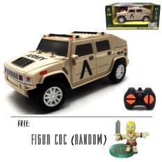 Mainan Anak RC Mobil Remot Army Military Mini Hammer (Warna Random)