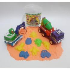 Mainan Edukatif Pasir Ajaib Paket Model Sand Dengan Mainan Mobil Beku Dan Maxstar Molen