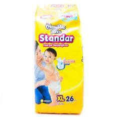 MamyPoko Pants Standar Popok Bayi dan Anak Unisex Diapers Tipe Celana Size XL - 26 Pcs