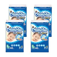 Mamypoko Popok Tape Extra Dry L 40 - Karton Isi 4