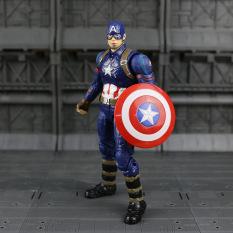 Marvel Captain America Civil Captain PVC Action Figure Collectible Model Toy - Intl