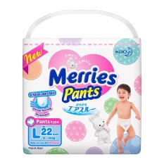 Merries Premium Pants L 22