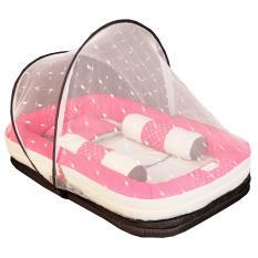 Mom's Baby - Kasur Bayi 3 Fungsi Sofa + Kelambu Lullaby Series - MBk4008