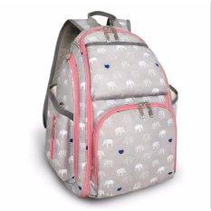 Multifunction Diaper Bag Travel Backpack Waterproof Baby Nappy Bag - intl