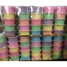 New Colour Pastel Set of 5pcs Slime Mainan Anak (isi lebih banyak)