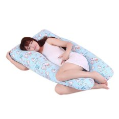 New Maternity Pregnancy Boyfriend Arm Body Sleeping Pillow Covers Sleep U Shape Cushion Cover - intl
