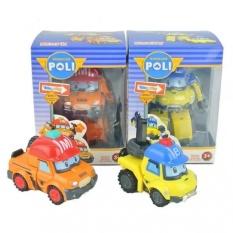 NO.1 Mark &Amp; Bucky Deformation Robot Toys - intl