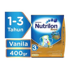 Nutrilon Royal 3 Pronutra Susu Pertumbuhan - Vanila - 400gr