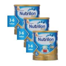 Nutrilon Royal Pronutra 4 Susu Pertumbuhan - Madu - 800gr Bundle 3 kaleng