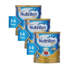 Nutrilon Royal Pronutra 4 Susu Pertumbuhan - Vanila - 800gr Bundle 3 kaleng