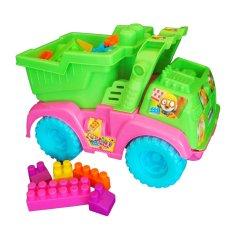 Edukasi Anak Source · Ocean Toy Truck Block Isi 50 Pcs Mainan Anak .