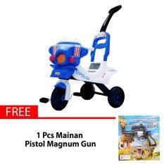 Ocean Toy Yotta Ride On Sepeda Polisi Mainan Anak - Free Pistol Magnum Gun