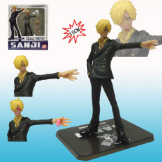 One Piece Cartoon The New World Sanji Action Collectionfigure Pvc Action Figure Toys Dolls Brinquedos With Retail Box - Intl