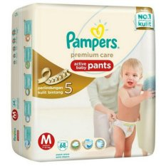 Pampers Premium Active Baby Pants M-68