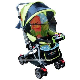 Pliko Creative Classic Baby Stroller Bs 218 Lightweight Kereta Dorong Bayi Green Lazada