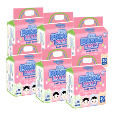 Pokana Baby Pants Premium M20 - isi 6