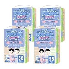 Pokana Baby Pants Super Jumbo Pack - M58 isi 4