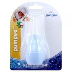Pumpee Nose Cleaner Biru - Alat Penghisap Ingus Bayi / Sedot Ingus