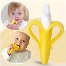 Quincybaby Banana Teething Toothbrush for Infants Baby