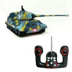 Random House Mainan Mobil Remot Control Tank King Tiger Skala 1:72 Multicolor