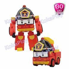Robocar Poli Transformable Mainan Mobil Robot Berubah Roy
