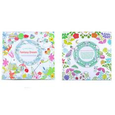 Secret Garden Anti Stress Coloring Painting Book For Kid Adult Fantasy Dream
