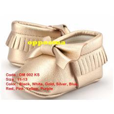 Minetha Kid Shoes Sepatu Anak Perempuan Balerina Flat Usia 1-12 tahun /Silver/