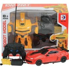 Setyatoys/Mainan Anak RC Mobil Bisa jadi robot model transformer Bumble Bee
