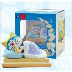 Sleeping Doraemon Action Figures So Cute Doraemon Toys for Putting Notes Stickers as Children Gift B719 - intl