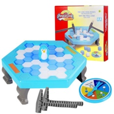Small Penguin Trap Ice Breaker Game Save Ice Block Toy Funny Game Children Gift - intl