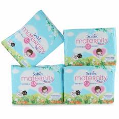 Softex Paket Hemat Maternity Pembalut Bersalin 40cm 20 +2 pcs - 4 pak - SML009