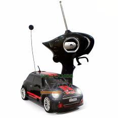 Super Racer RC Mobil Drift 4WD Mini Cooper Body Metal Skala 1/24 - Multi Color
