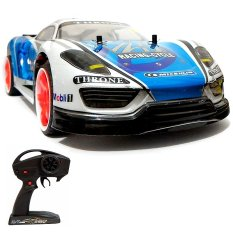 Super Racer RC Mobil Drift New Vmax Electric 2.4G Skala 1/10 - Biru