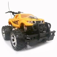 Super Racer RC Mobil Storm Bigfoot Pick Up Skala 1/24 - Kuning