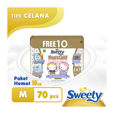 Sweety Pants Royal Gold M 60+10's