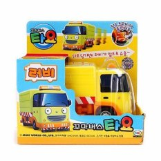 The Little Bus Tayo- Pull Back Car Diecast Toy Vehicle (RUBY) - intl