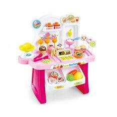 Tomindo Mini Market Playset Pink 668-24