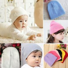 Topi kupluk rajut bayi balita