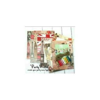 Home · Aukey 10 X Kertas Menggantung Bingkai Foto Galeri Album Dibetulkan Dengan Garis Tali Penjepit Dekorasi Rumah; Page - 3. Wooden Clip Frame Motif Paris ...