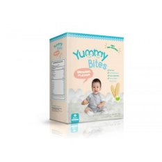 Yummy Bites Baby Rice Cracker Original - 50 gram