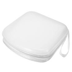 40 Disc Storage Holder Sleeve Case Hard Box Wallet Bag Zipper White (Intl)