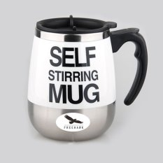 400ml Electric Self Stirring Mug Automatic Coffee Mixing Cup Automatic Electric Stirring Coffee Mug—White - INTL