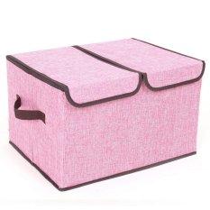 45X30X25cm Clothing Organizer Cotton Convenient Foldable Storage Box