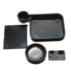 4in1 Lens Cap + Housing Cover + Battery + Side Door For GoPro Hero 3 3.4 Camera - Intl