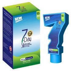 7 Day Slim Pelangsing Badan 7Day Slim - Biru