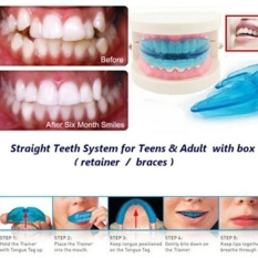 A retainer + Box Orthodontic Straight Teeth for Teens Adult - intl