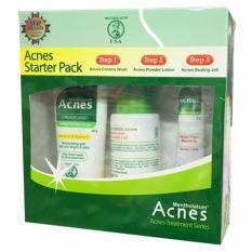 Acnes Starter Pack - Paket Perawatan Wajah Berjerawat